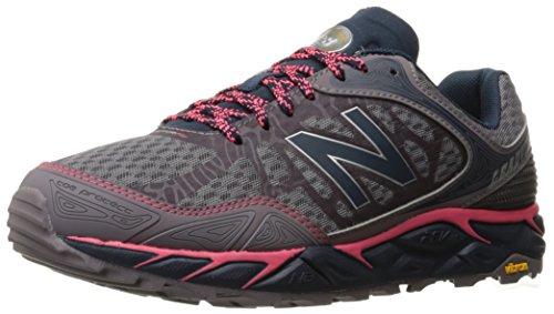 New Balance Women's Leadville Trail Running Shoe, Grey/Pink, 6.5 B US