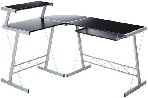 BHG L Shape Computer Desk, Black