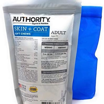 Authority-Skin-and-Coat-Soft-Chews-and-Tesadorz-Resealable-Bags