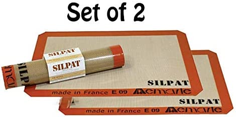 Silpat Non-Stick Silicone Baking Mat (Set of 2)