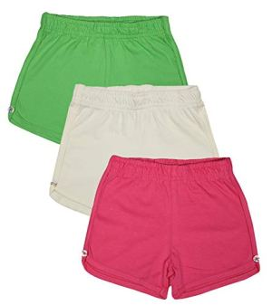 Luke & Lilly Cotton Girls Shorts Pack of 3