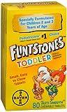 Flintstones Toddler Children's Tasti Smooth Chewable Tablets - 80 Tablets, Pack of 2