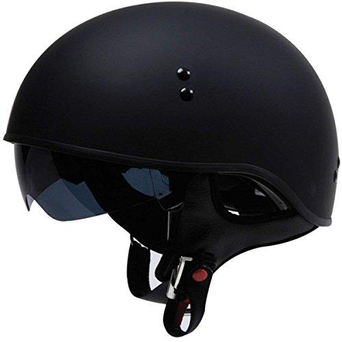 TORC T55 Spec-Op Half Helmet (Flat Black, Medium)