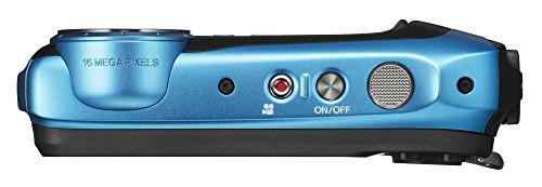 Fujifilm-FinePix-XP130-Waterproof-Digital-Camera-w16GB-SD-Card-Sky-Blue