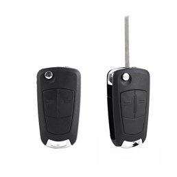 Coque-CLE-pour-telecommande-Vauxhall-Opel-vectra-astra-tigra-zafria-corsa-pliable-2-boutons