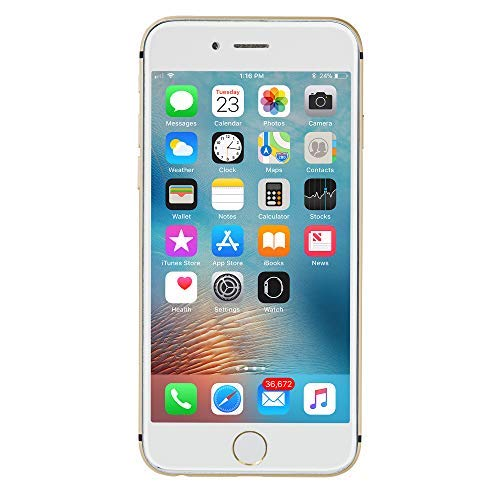 Apple iPhone 6, AT&T, 64GB - Gold (Renewed)