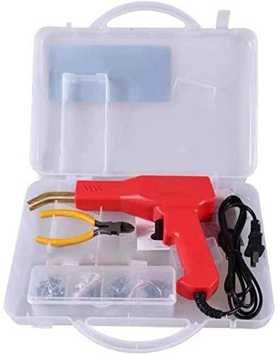 50w Hot Stapler, Plastic Welding Machine Car Bumper Repair Kit, Plier, Flat/Outside Corner/Inside Corner/Wave Staples…