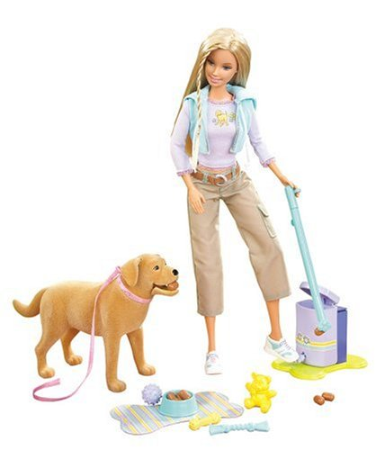Barbie Forever Barbie Doll with Tanner the Dog