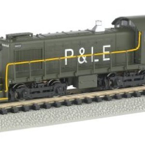 Bachmann Industries Alco S4 Diesel Switcher Dcc Equipped Locomotive NYC System P&Le #8662 N Scale Train Car 41O7m6mvdaL