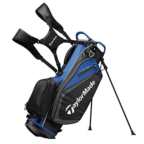 TaylorMade 2019 Golf Select Stand Bag, Black/Blue