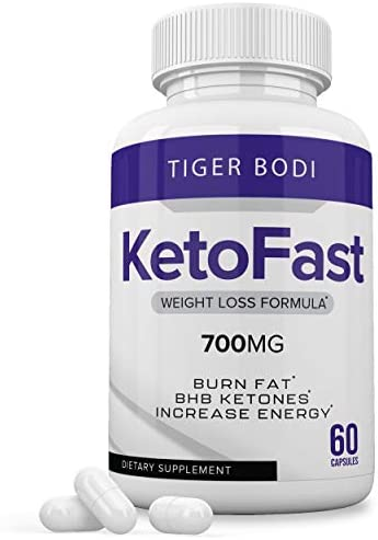 Keto Fast Diet Pills, Keto Fast Burn Weight Management Capsules 700 mg, Pure Keto Fast Supplement for Energy, Focus - BHB Ultra Boost Exogenous Ketones for Rapid Ketosis for Men Women 3