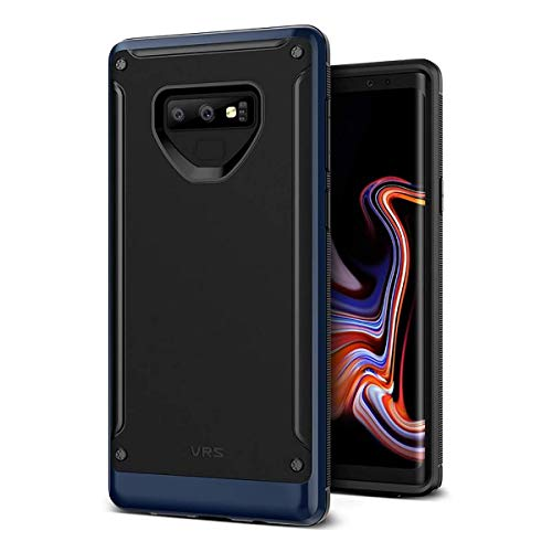 VRS Design Case for Samsung Galaxy Note 9 High Pro Shield Metal Lustre Finish Deep Sea Blue Color 1