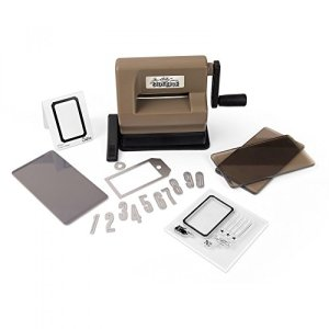 Sizzix 662535 Sidekick Starter Kit Featuring Tim Holtz Designs, Brown & Black