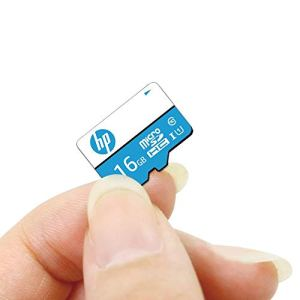 HP 16GB Class 10 MicroSD Memory Card (HP-MSDCWAU1-16GB)