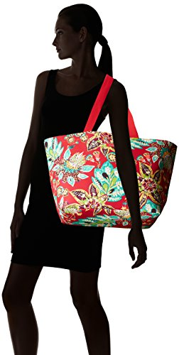41OICebaDRL Pockets: 1 interior slip Lighten Up fabrication is lightweight, durable and water-repellent. Large Tote for family outings at the beach or any trip