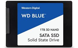 WD Blue 3D NAND 1TB PC SSD - SATA III 6 Gb/s, 2.5'/7mm - WDS100T2B0A