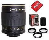 Opteka 500-1000mm f/8 Mirror Telephoto Lens for Nikon D5, D4s, D4, D3x, Df, D810, D800, D750, D610, D500, D7500, D7200, D7100, D5600, D5500, D5300, D5200, D5100, D3400, D3300 Digital SLR Cameras