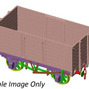 Dapol 7F-073-001 7 Plank Wagon 9′ Wheelbase 3 Door Diamond 1130 41OTTEdl5OL