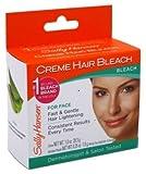 Sally Hansen Creme Hair Bleach For Face (2 Pack)