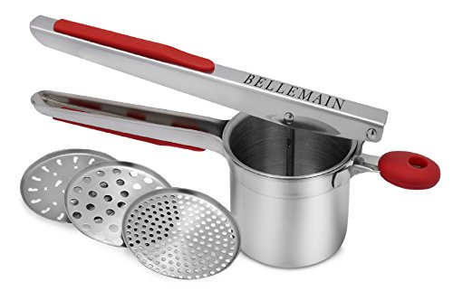 Top Rated Bellemain Stainless Steel Potato Ricer