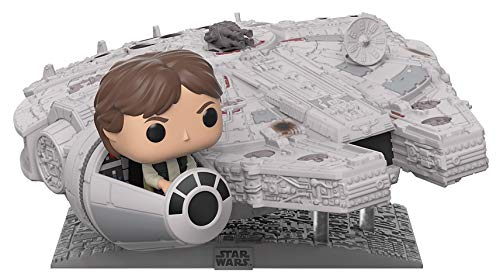 Funko Pop! Deluxe: Star Wars - Millennium Falcon with Han Solo,  Exclusive