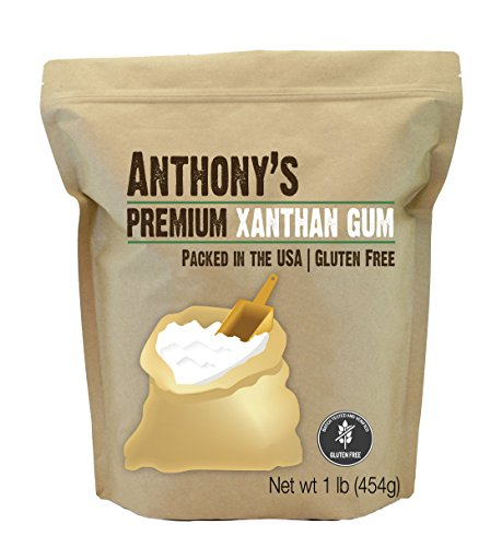 Anthony's Xanthan Gum, 1 lb, Batch Tested Gluten Free, Keto Friendly, Product of USA 1