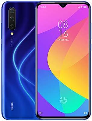 "Xiaomi Mi 9 Lite 64GB + 6GB RAM, 6.39"" AMOLED FHD+ LTE 48MP AI Triple Camera Factory Unlocked Smartphone - Global Version (Aurora Blue)"