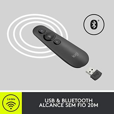 Logitech-R500-Laser-Presentation-Remote-Clicker-with-Dual-Connectivity-Bluetooth-or-USB-for-Powerpoint-Keynote-Google-Slides-Wireless-Presenter-Black