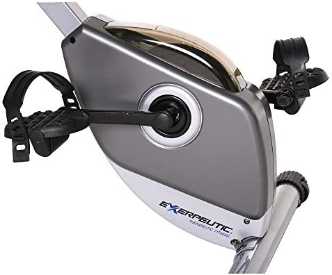 Exerpeutic Folding Magnetic Upright Exercise Bike with Pulse, 31.0' L x 19.0' W x 46.0' H (1200) 6
