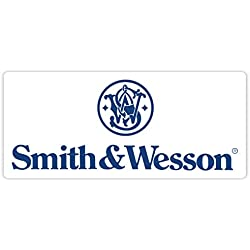 """Smith and Wesson blue slogan sticker decal 5"""" x 3"""""""