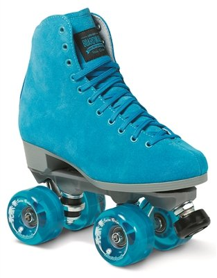 Sure-Grip Blue Boardwalk Skates Outdoor