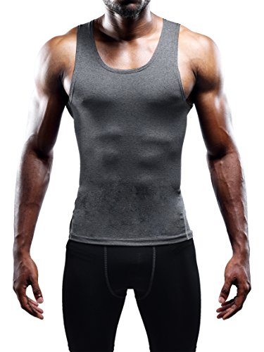 Neleus Men's 3 Pack Athletic Compression Under Base Layer Sport Tank Top 17 Fashion Online Shop gifts for her gifts for him womens full figure