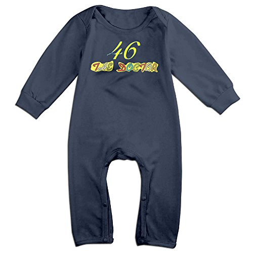 61d238b8f Valentino Rossi Girls Baby 100% Cotton Bodysuits Romper Babysuit ...