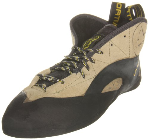 La Sportiva TC Pro Rock Shoe - Men's Climbing Shoes 45 Sage