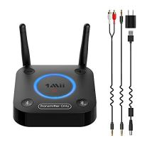 1Mii B06TX Bluetooth 5.0 Transmitter for TV to Wireless Headphone/Speaker, Bluetooth Adapter for TV w/Volume Control…