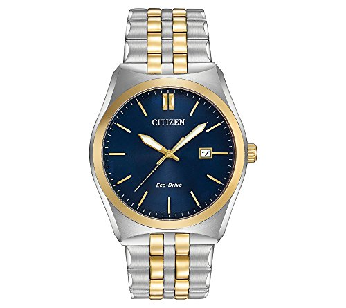 41Ovnn5Fp7L Two tone stainless steel Blue dial Date window