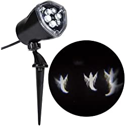 Halloween Outdoor Decoration LED Chasing White Ghosts Light Effect Projector