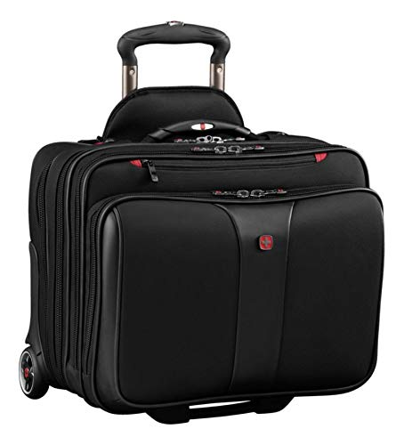 Wenger Luggage Patriot Ii 2-Piece 15.6' Wheeled Business Set Laptop Bag Black One Size