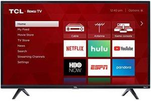 TCL 40S325 40 Inch 1080p Smart LED Roku TV (2019)