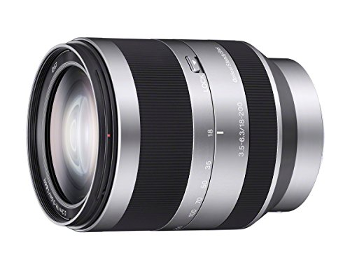 Sony Alpha E-mount 18-200mm F3.5-6.3 OSS Lens (Silver)