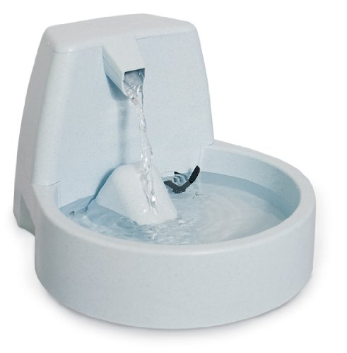 PetSafe Drinkwell Original Cat and Dog Water Fountain, Filtered Water for Your Pet, 50 oz. Water Capacity