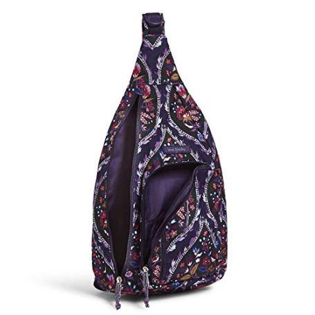 Vera-Bradley-Womens-Lighten-Up-Sling-Backpack-Black-One-Size
