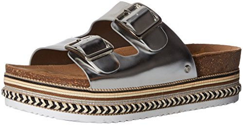 41PRqnORGjL Slip-on providing easy wearability Fashionable update to a footbed slide sandal