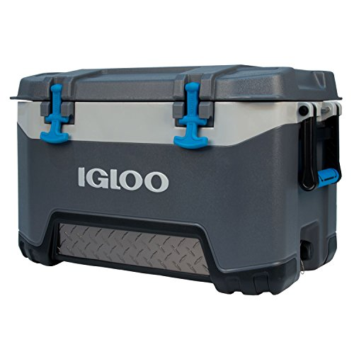 Igloo BMX 52 Quart Cooler - Carbonite Gray/Carbonite Blue
