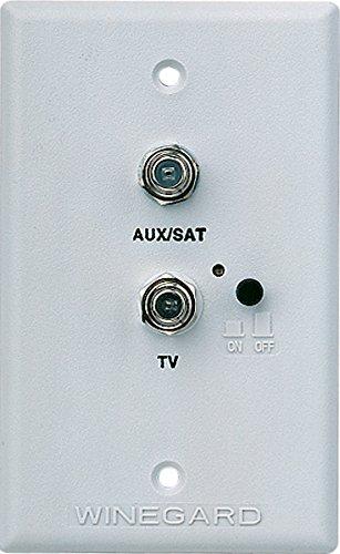 Winegard Company RV-7542 Wall Plate/Power Supply-White