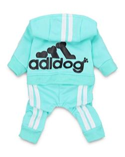 DroolingDog-Adidog-Dog-Clothes-Pet-Dog-Shirt-Puppy-Outfit-for-Small-Dogs-Small-Green
