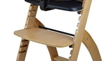 93e9082376bb Abiie Beyond Wooden High Chair With Tray. The Perfect Adjustable Baby  Highchair Solution For Your