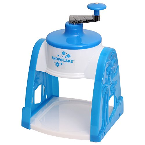 Time for Treats SnowFlake Hand Crank Manual Snow Cone Maker Ice Shaver VKP1101