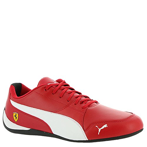 Ferrari Drift Cat Sneaker, Rosso Corsa White Black