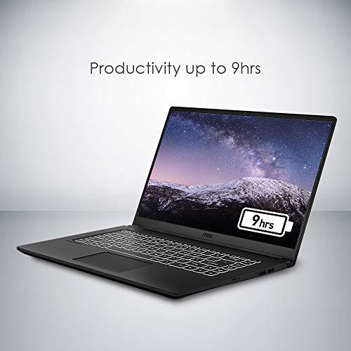 MSI Modern 15 A10RB-032IN Intel Core I5-10210U 10th Gen 15.6-inch Laptop(8GB/512GB NVMe SSD/Windows 10 Home/MX250, 2GB Graphics/Grey/1.6Kg )9S7-155111-032 11